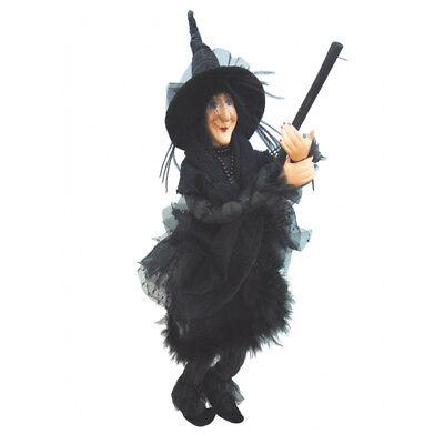 noir 45cm Apprehensive Witches Of Pendle Chattox Sorcière Battant wopchat45blac