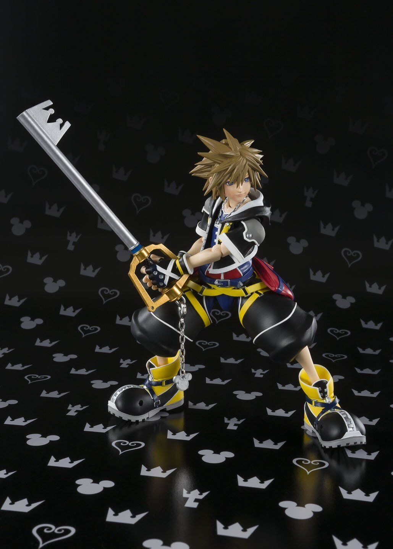 Bandai S.H.Figuarts Kingdom Hearts Sora (KINGDOM HEARTS II) 130mm Action Action Action Figure 3c3820