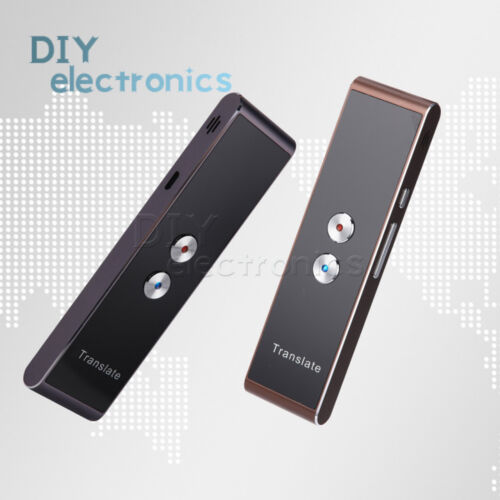 T8 Portable Smart Voice Two-Way Real Time 30 Multi-Language Translator US