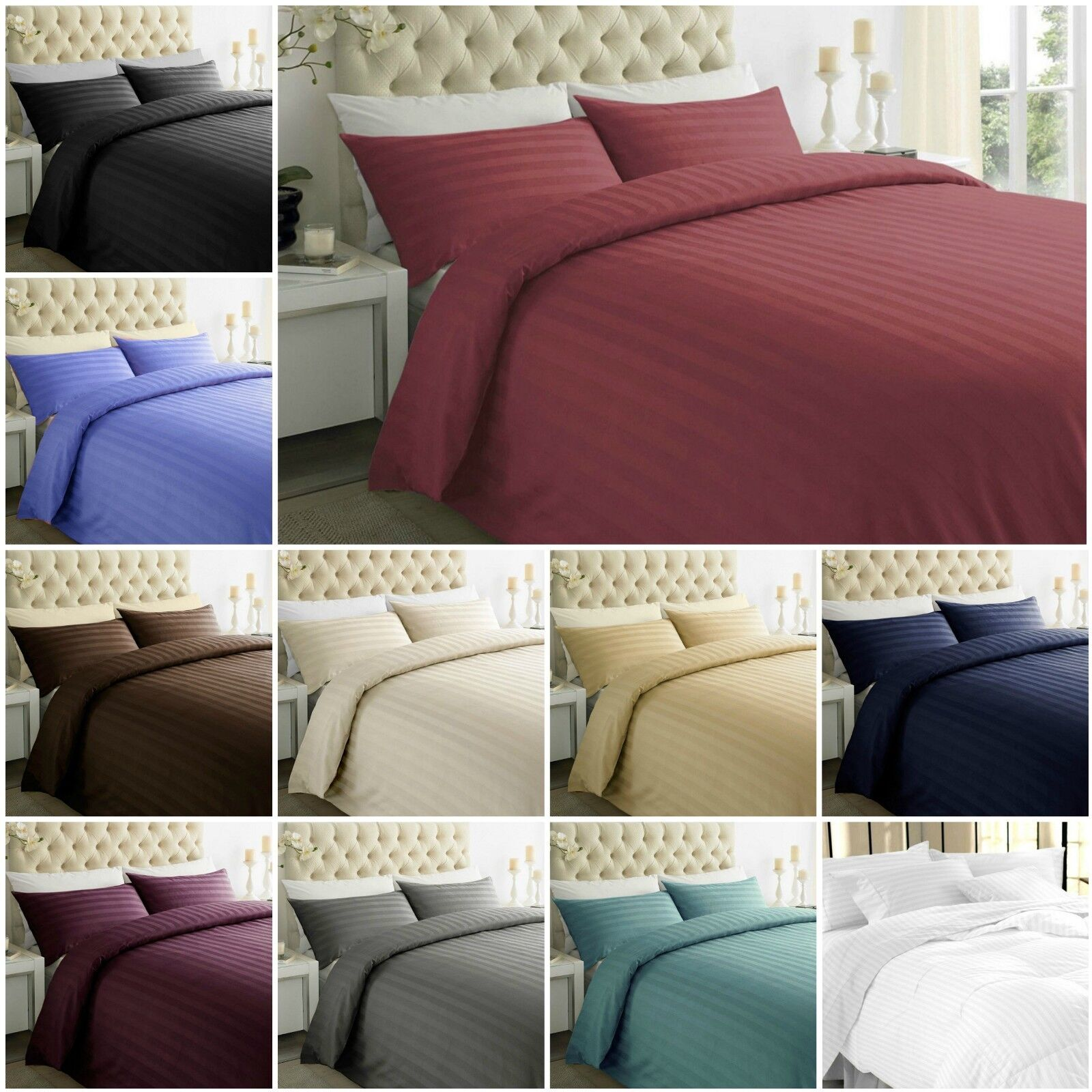 T-200 Egyptian Cotton Fitted,Flat,Valance sheet Bed Sheet Pillow Case S,D,K,S.k