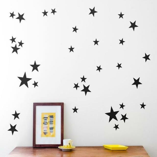 New Little Star Decal DIY Art Mural Wall Sticker Baby Kids Girl Room Decor L