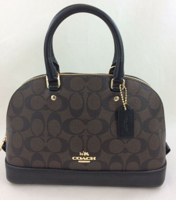 9592509b16 Authentic Coach Mini Sierra Satchel in Signature F37232 for sale ...