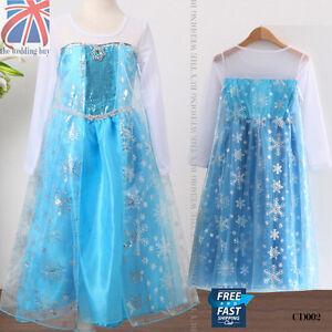 Reino-Unido-congelados-Princess-Queen-Elsa-Cosplay-Disfraz-Fiesta-De-Disfraces-3-8-Anos-cd002