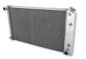 New 3 Row Aluminum  Radiator Fit For 1974-1990 Oldsmobile Custom Cruiser