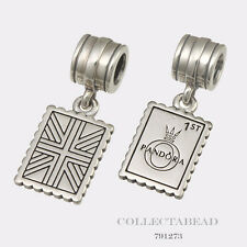 Authentic Pandora Sterling Silver Hanging Greetings From London Bead 791273
