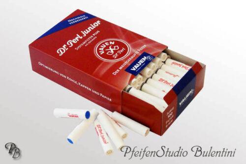 Filtre Pipes 9mm Charbon activé//actif Pipe Filter Filtres VAUEN Dr.Perl Junior