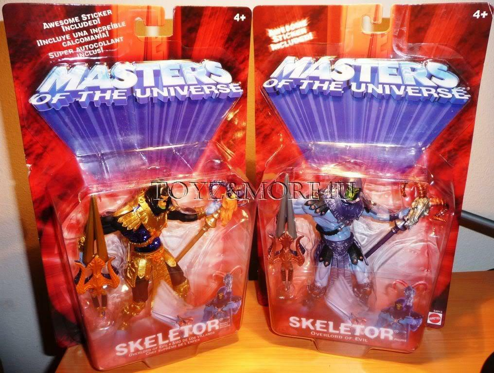 MASTERS OF THE UNIVERSE MOTU  SKELETOR WITH RAVE VARIANT  basta comprarlo