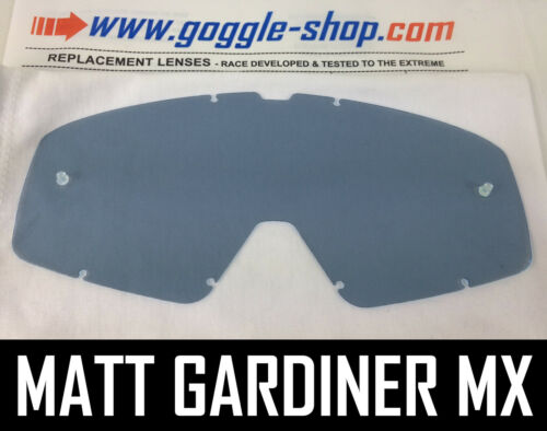 Goggle-Shop Ersatzglas für Fox Main Motocross Mx Brille Hell Getönt Farbe