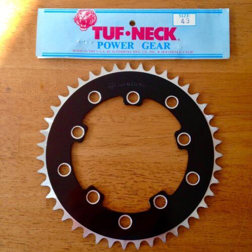TUF NECK Old School 43 DENT POWER GEAR Chainring années 80 vintage BMX pignons 43 T