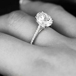 2-05-Ct-Genuine-Oval-Cut-Diamond-Engagement-Ring-Micro-Pave-14K-WG-GIA-G-VS2
