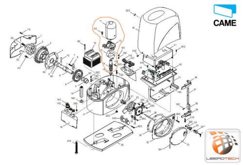 Gruppo motore BX-243 119RIBX046