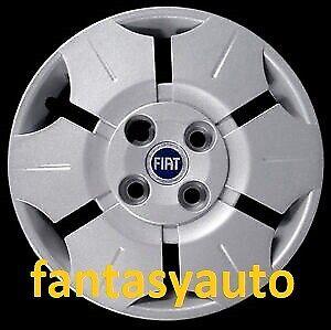Fiat Panda 169 Dal 2003 /> 2012 Set 4 Pezzi Borchie Coppe Copponi Copri Cerchi 13