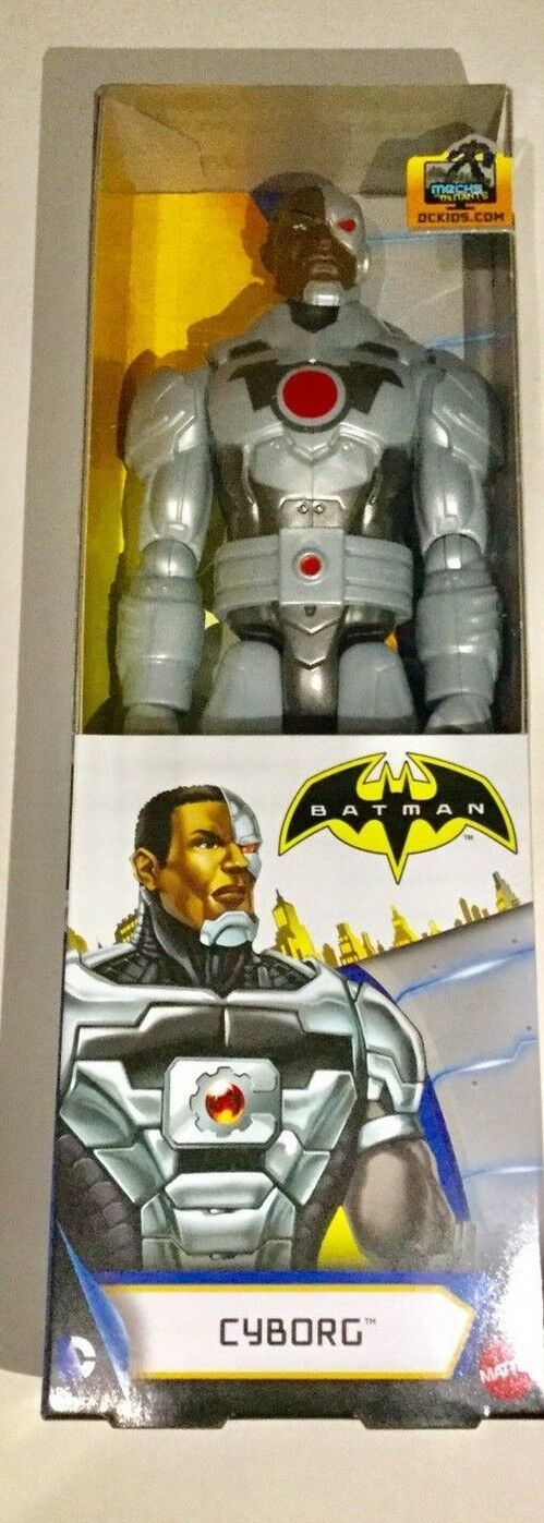 Cyborg figure, Brand new in box. Mattel, DC Comics, Batman unlimited.