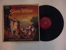 Vintage SNOW WHITE AND THE SEVEN DWARFS Disneyland WDL4005 Record Vinyl LP 12""