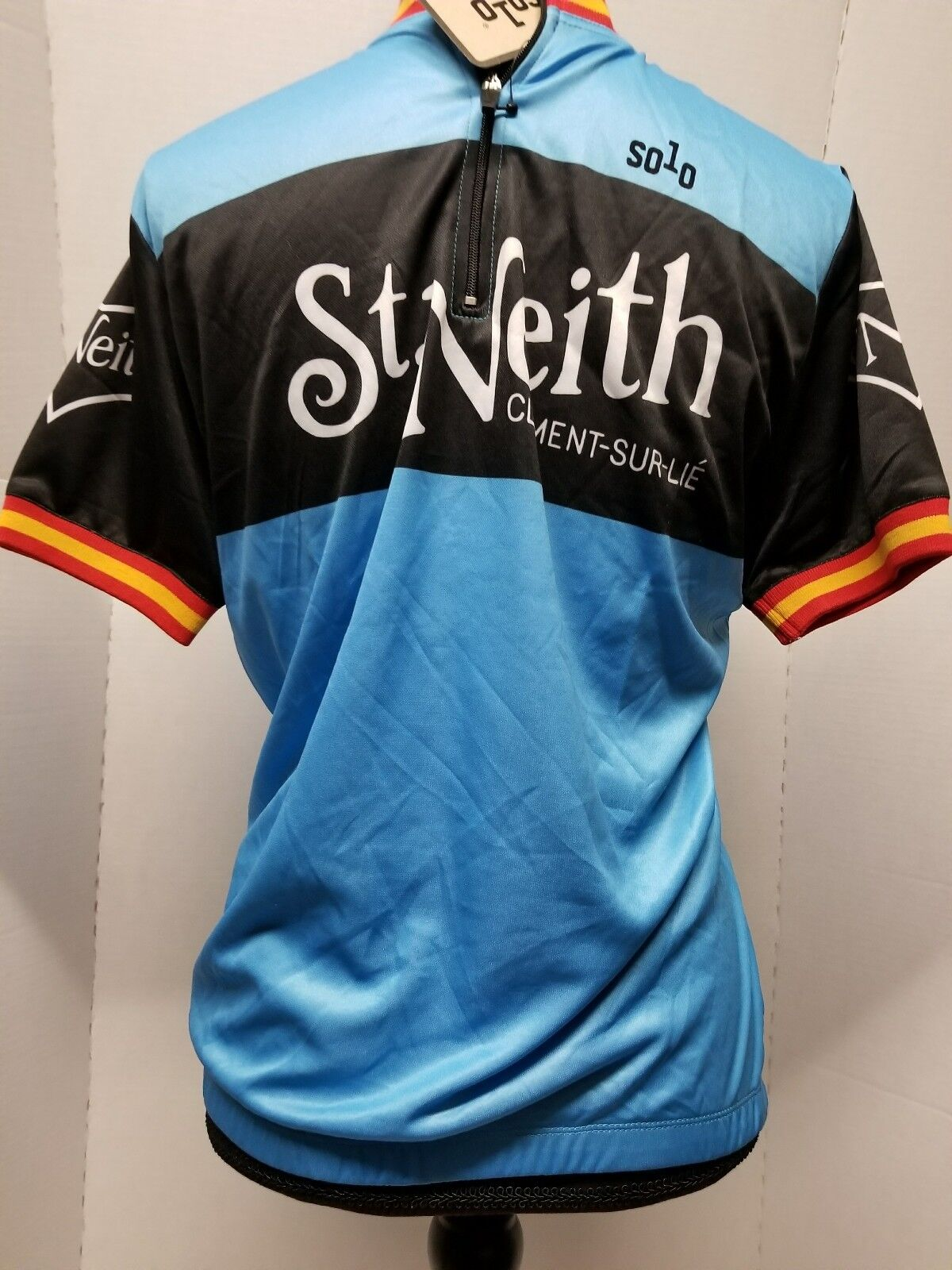 Solo St Neith Cycling Classique Jersey, tag, M New w/ tag, Jersey, Blau bike shirt Medium Top 4c0ad4