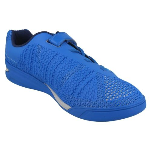 Boys Clarks Award Blaze Inf /& Jnr Red Blue Or Yellow Neon Sports Trainers