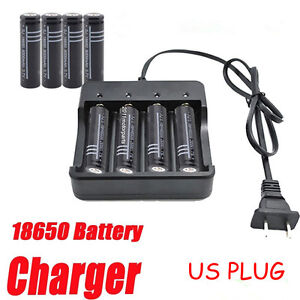 4-Slot-Charger-Adapter-for-Rechargeable-Lithium-18650-16340-Battery-US-Plug-US