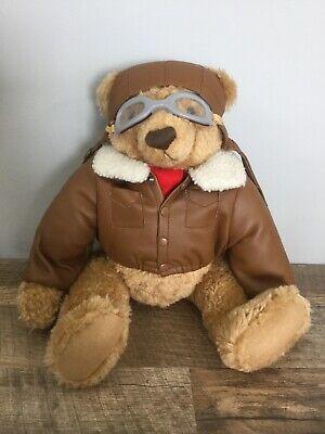 MIB ACE 1998 TEXACO FLYING PIONEER PLUSH TOY BEAR THE BEAR BOX