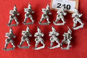 Games Workshop Warhammer Marauder MM70 Dark Elf Warriors Crossbowmen Elves Metal
