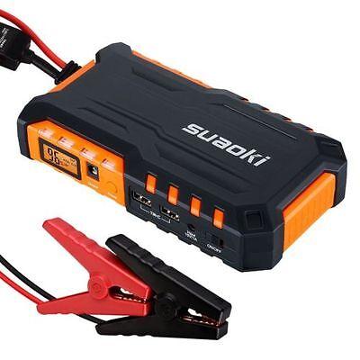 Suaoki G7 600A Peak 18000mAh Portable Car Jump Starter Battery Booster
