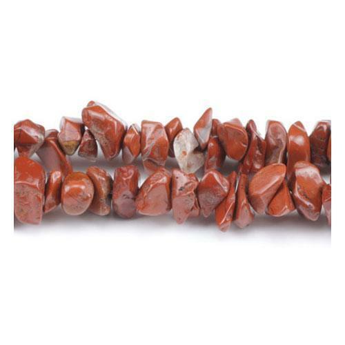 Pcs Handcut Gemstones Jewellery Making Crafts Jasper Chip Beads 5-8mm Red 240