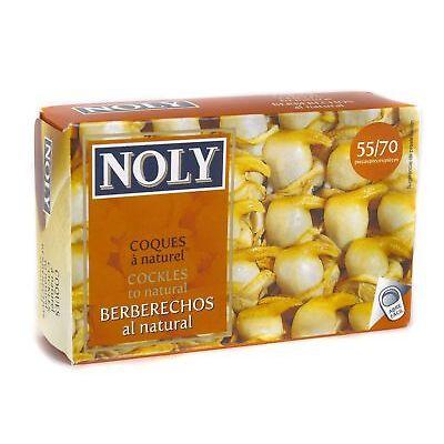 Noly Berberechos Natural 111g (55/70 piezas)
