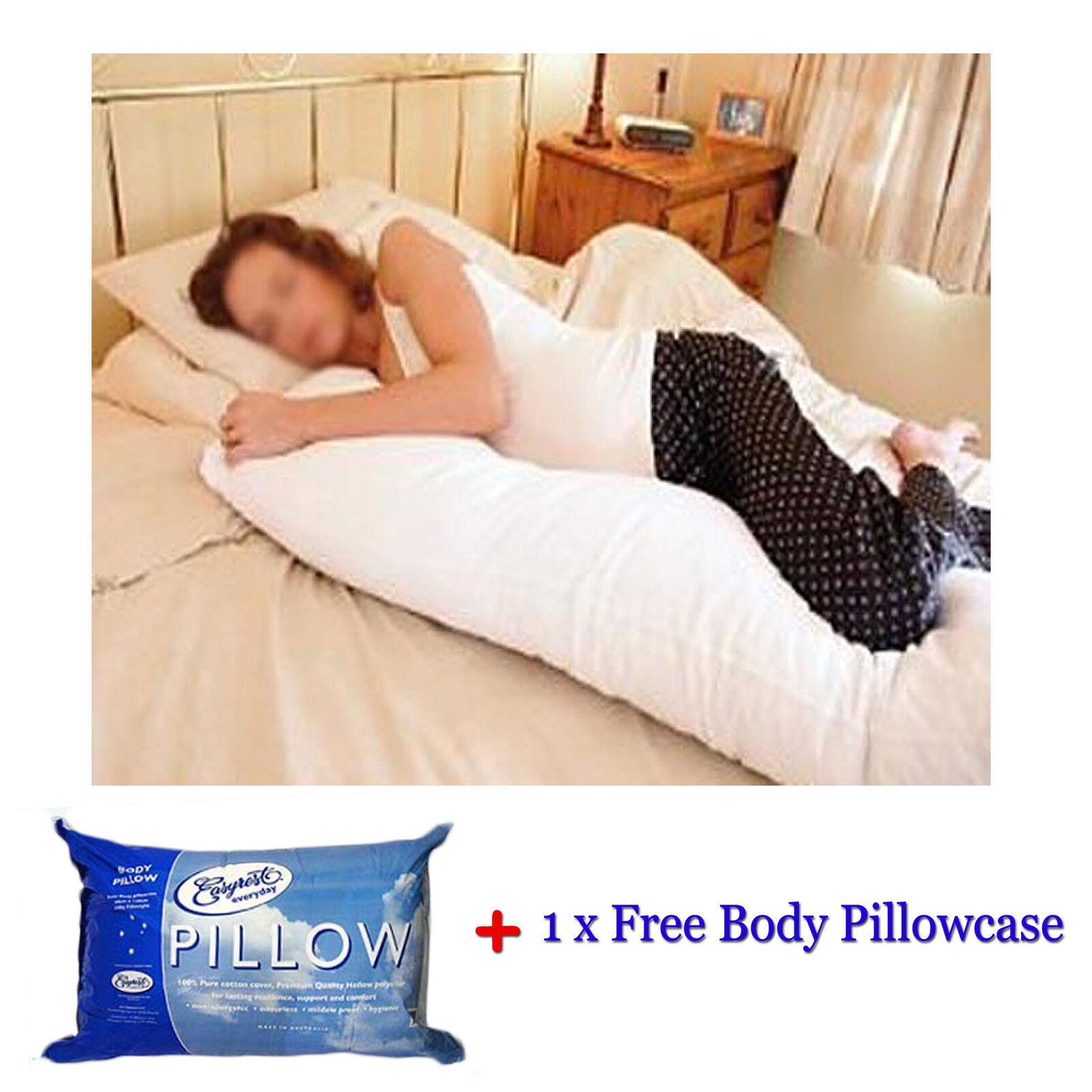 Easyrest BODY Pillow + Pillowcase 48x150cm - MADE IN AUSTRALIA