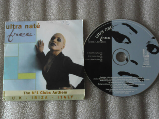 CD-ULTRA NATE-FREE_MOOD II SWING_FULL INTENTION-SPRINGSTEEN_(CD SINGLE)97-3TRACK