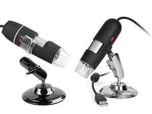 Digital microscope 2.0mp usb magnifier video camera w measure