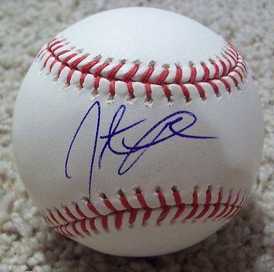 Jonathan Papelbon Washington Nationals Signed Mlb Baseball W/proof Red Sox D Sports Mem, Cards & Fan Shop Balls