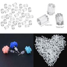 500 Pieces Clear Rubber Earring Safety Backs for Fish Hook Earrings