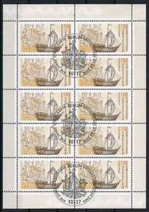 Duitsland-Bund-gestempeld-2006-used-Kleinbogen-2558-Hanse-650-Jahre