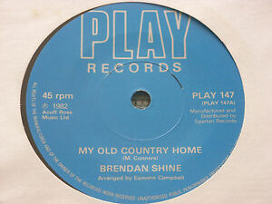 Brendan-Shine-My-Old-Country-Home-7-034-MINT-UNPLAYED-VINYL
