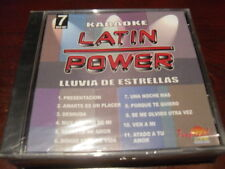 LATIN POWER KARAOKE VCD DVD VCLP-007 LLUVIA DE ESTRELLAS SEALED