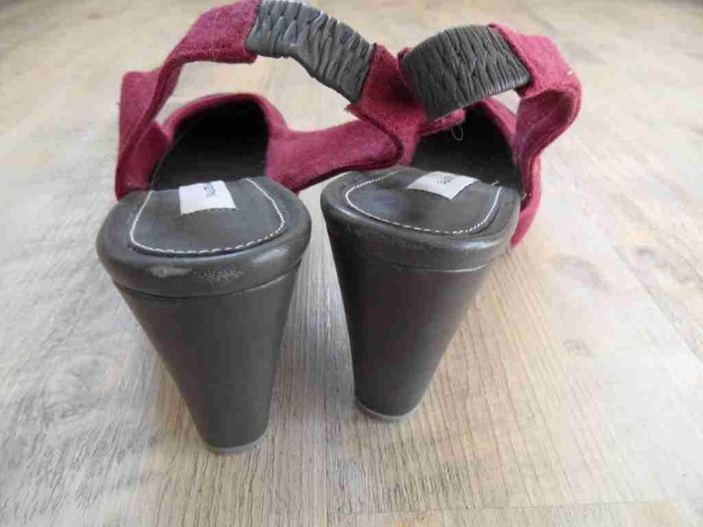 FAUSTO SANTINI stylische Alingpumps Materialmix bordeaux grau grau grau Gr. 36 NEU  ZC417 015d18