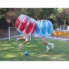 Inflatable Body Bumper Balls Kids Human Soccer Zorb Bubble Football Toy - 2 PK