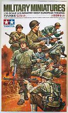 Tamiya 35048 U.S. Infantry West European Theatre 1/35 Model Kit NIB