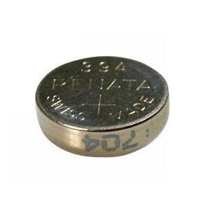 #394 (SR936SW) Renata Mercury Free Watch Batteries - Strip of 10