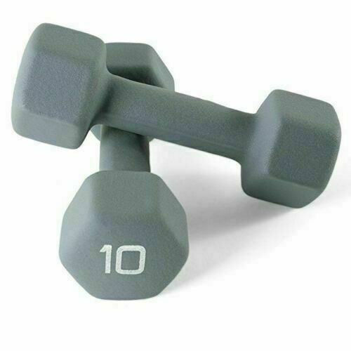 8 lb SELECT YOUR WEIGHT 3 lb CAP Neoprene Dumbbell 10 lb 2 lb 5 lb