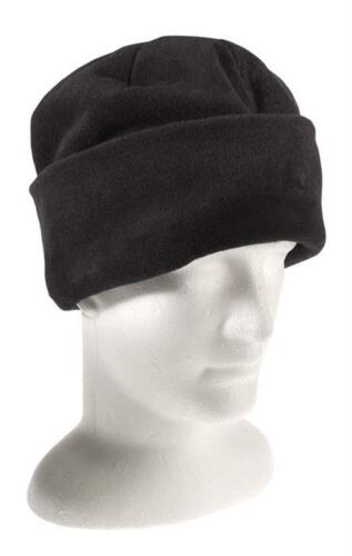3M Thinsulate Black Polar Fleece Beanie Thermal lined Warm Winter Cap Hat Ski
