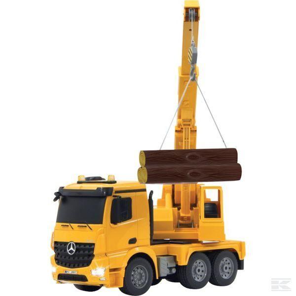 Jamara Remote Controlled Crane Mercedes Arocs 1 20 Scale Model Toy Gift