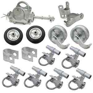 Image Is Loading Chain Link Rolling Gate Hardware Parts Kit