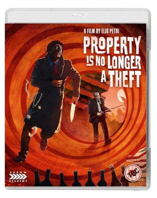 Property is No Longer a Theft [Region A & B] (Blu-ray)
