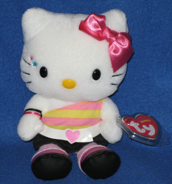 TY HELLO KITTY RETRO the BEANIE BABY - MINT with TAG - SEE PICS d9a54cef5f72