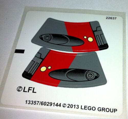 75001-Old Republic 3 X Pegatinas De Lego Star Wars Sith Speeder Pegatinas de