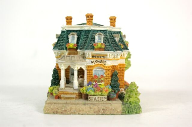 Liberty Falls 1999 Rosie's Flower Shop Handcrafted International Resources HSE3a