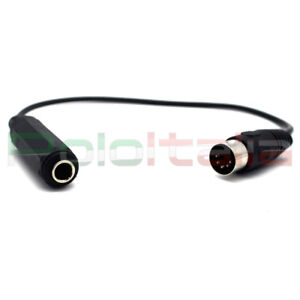 Cavo-audio-da-DIN-5pin-maschio-a-JACK-6-3mm-femmina-connettore-MIDI-stereo-cable