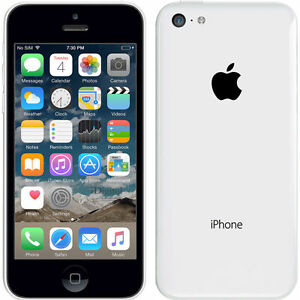 Smartphone-Apple-iPhone-5c-16GB-Blanco-Libre-Telefono-Movil-12-Meses-de-Garantia
