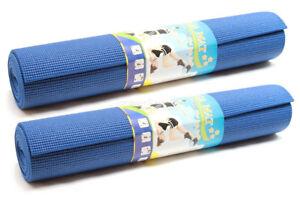 DLUX-2-PK-Yoga-Mat-Extra-Thick-Non-slip-Exercise-Fitness-Pilates-Pad-68-034-x24-034-x1-4