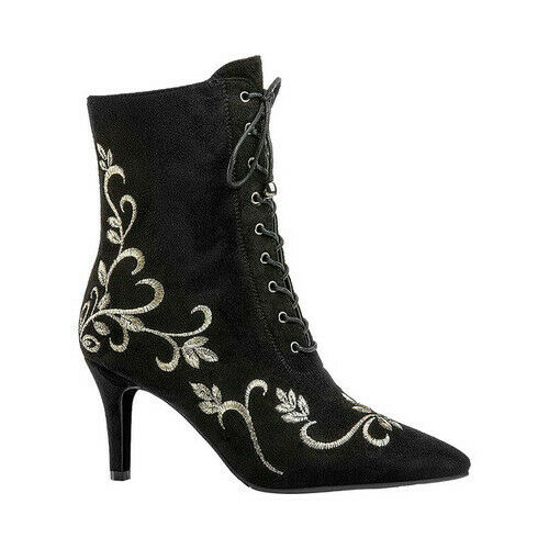 Ann Creek Women/'s   Verde Embroidery Lace Up Boot